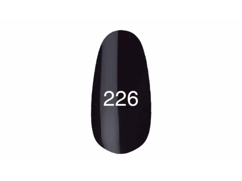 Kodi Professional GEL Nail Polish № 226 Aubergine Black (with Pearl ...